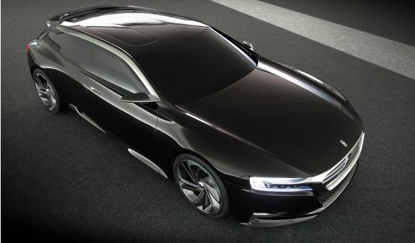 Frontal del Citroën concept car Número 9
