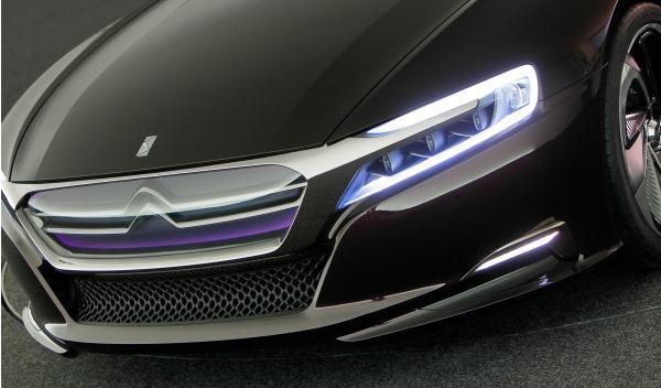 calandra del Citroën concept car Número 9