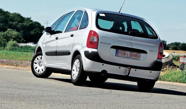 Citroën Xsara Picasso trasera