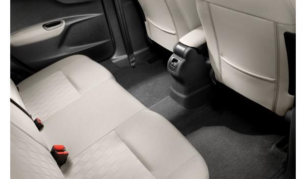 Citroën C-Elysée asientos