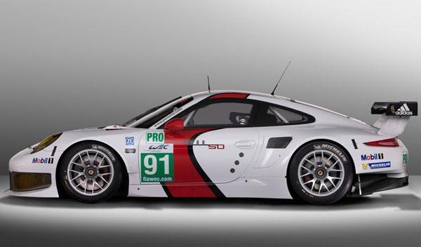 Porsche 911 RSR lateral