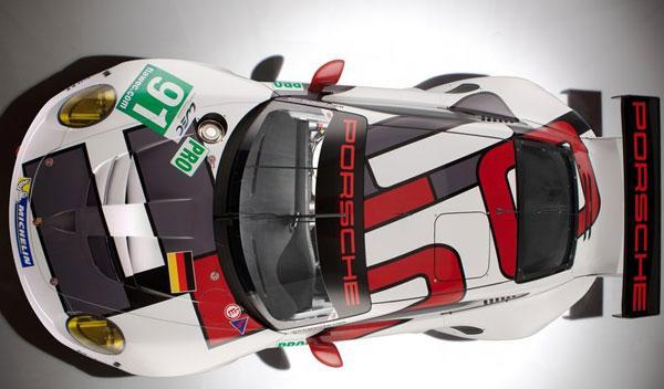 Porsche 911 RSR aérea