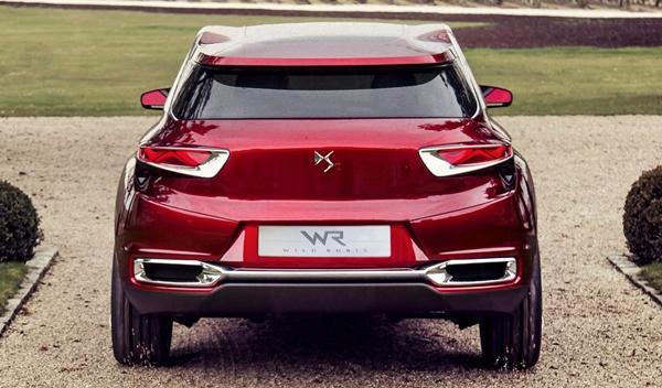 Citroën Wild Rubis Concept trasera