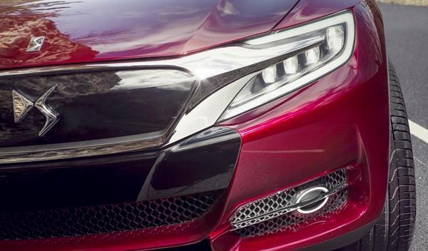 Citroën Wild Rubis Concept detalle faro