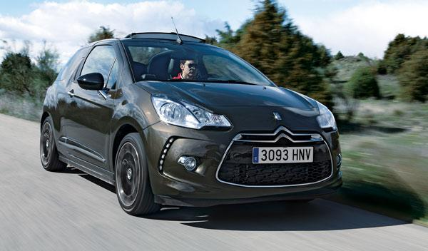 Citroën DS3 Cabrio frontal