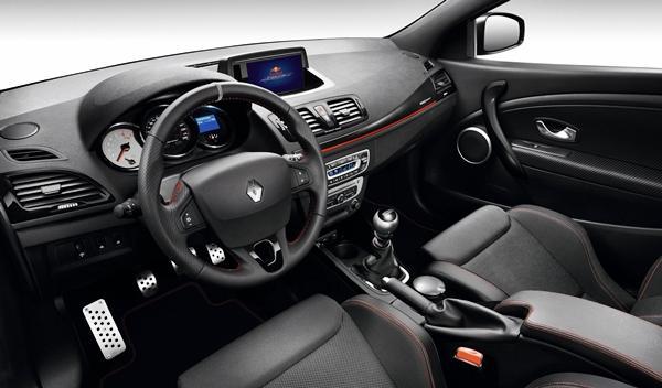 Renault Mégane RS Red Bull Racing RB8 interior