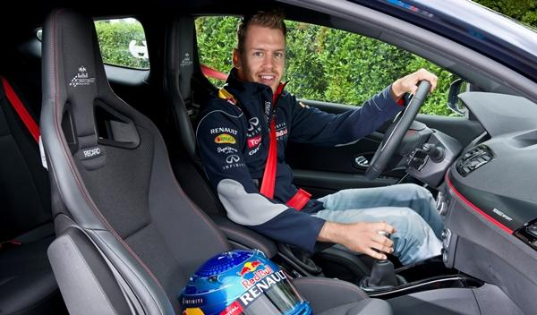 Renault Mégane RS Red Bull Racing RB8 Vettel