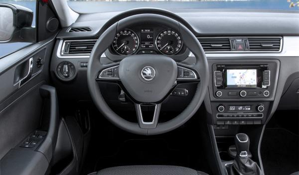 Skoda Spaceback interior