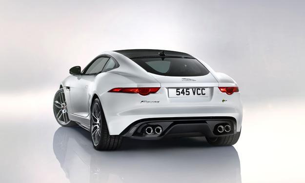 Jaguar F-Type zaga