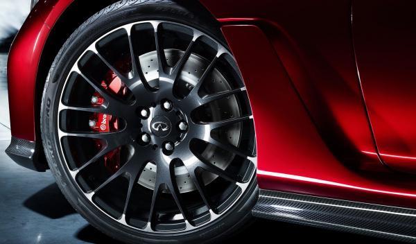 Infiniti Q50 Eau Rouge Concept detalle frenos