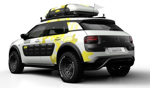 Citroën C4 Cactus Aventure trasera