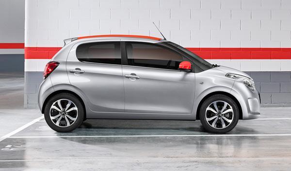 Citroën C1 2014 perfil