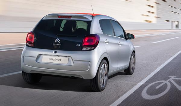Citroën C1 2014 trasera