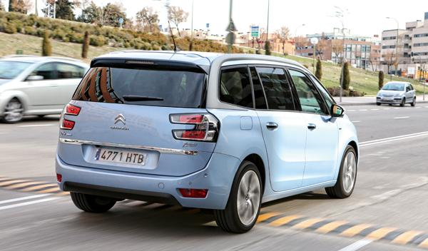 Citroën Grand C4 Picasso 2013 traseras