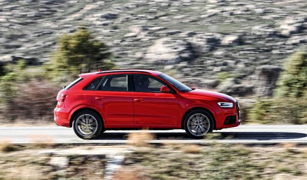 Audi RS Q3 lateral