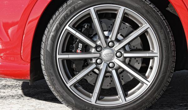 Audi RS Q3 llantas