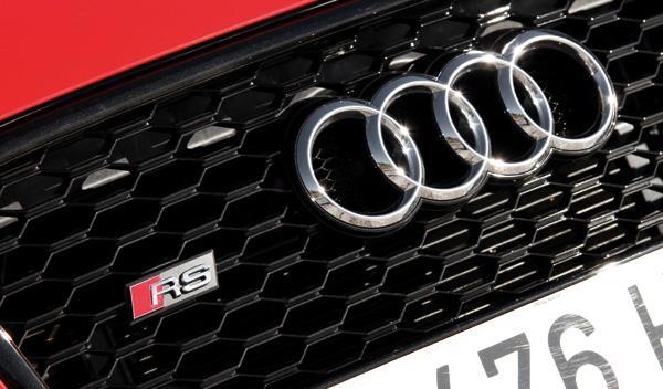 Audi RS Q3 parrilla