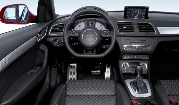 Audi RS Q3 salpicadero