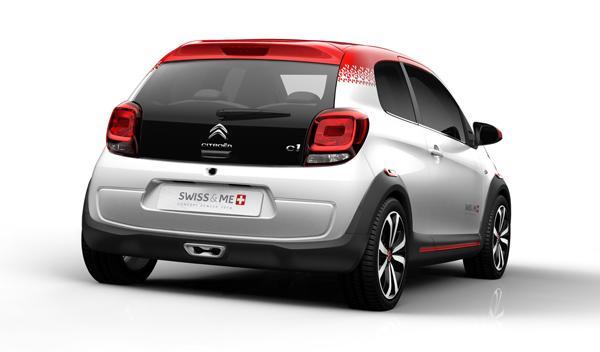 Citroën C1 Swiss & Me trasera 2