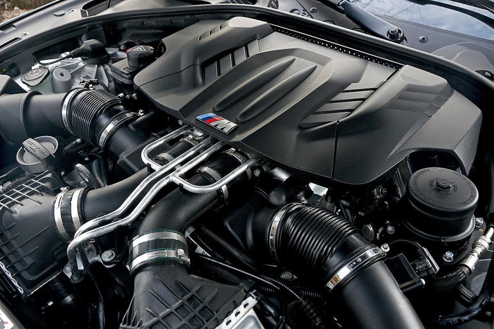 BMW M6 Gran Coupé motor