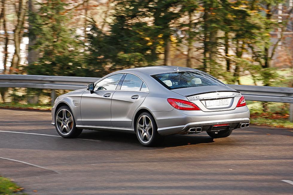 Mercedes CLS 63 AMG S