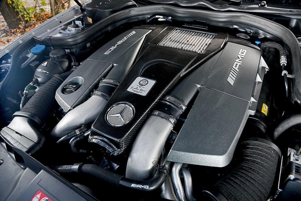 Mercedes CLS 63 AMG S motor