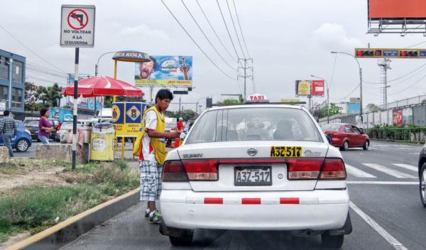 venta ambulante conducir perú