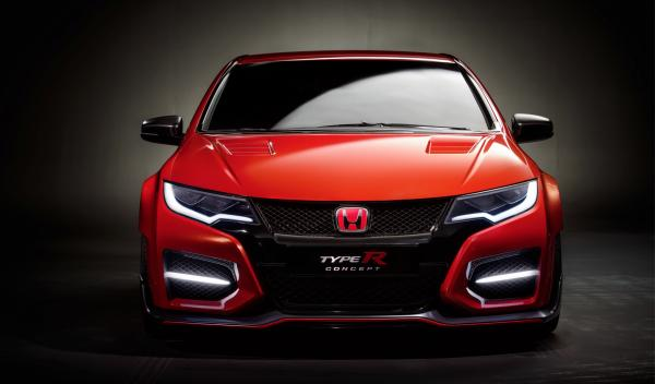 Honda Civic Type R 2015 frontal