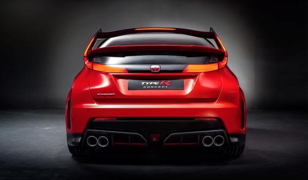 Honda Civic Type R 2015 trasera