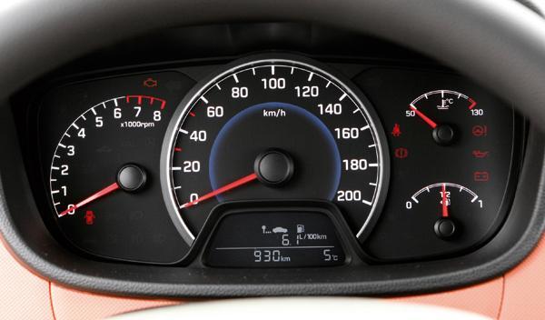 Hyundai i10 relojes