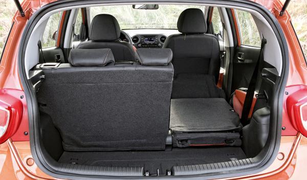 Hyundai i10 maletero