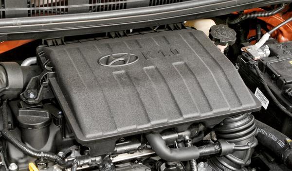 Hyundai i10 motor