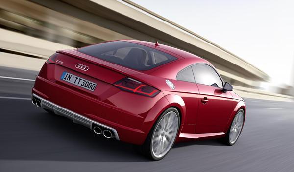 Audi TTS 2014 trasera 2
