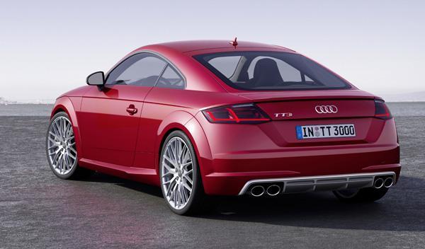 Audi TTS 2014 trasera