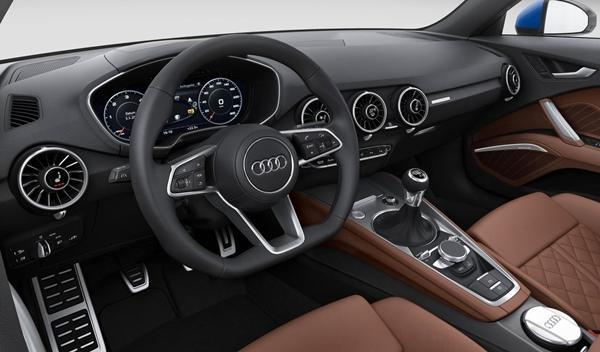 Audi TT 2014 interior