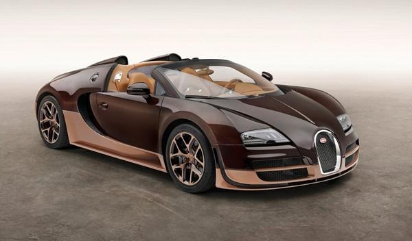 Bugatti Veyron Rembrandt Bugatti delantera
