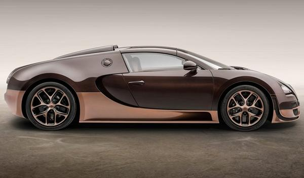 Bugatti Veyron Rembrandt Bugatti lateral