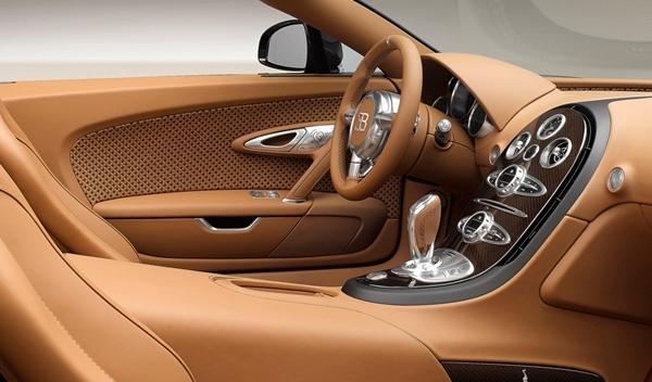 Bugatti Veyron Rembrandt Bugatti interior