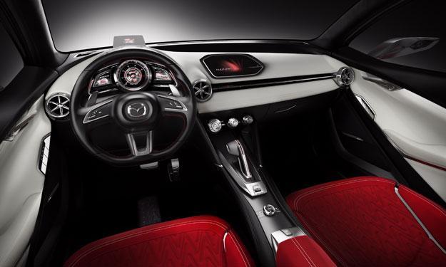 Mazda Hazumi interior
