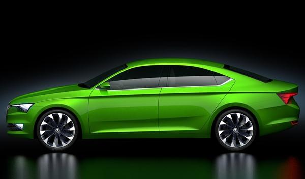 Skoda VisionC Concept lateral