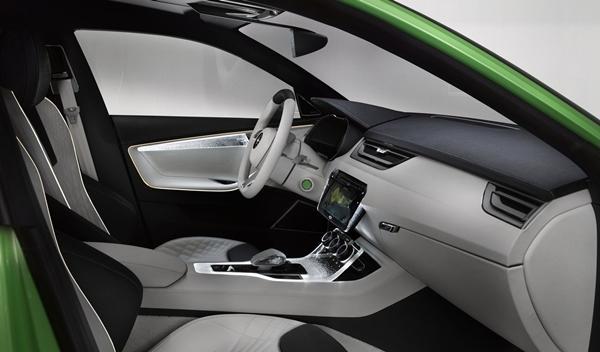 Skoda VisionC Concept interior