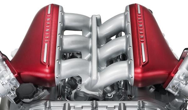 Infiniti Q50 Eau Rouge Concept motor V6 en Ginebra 2014