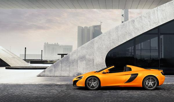 650S Spider lateral