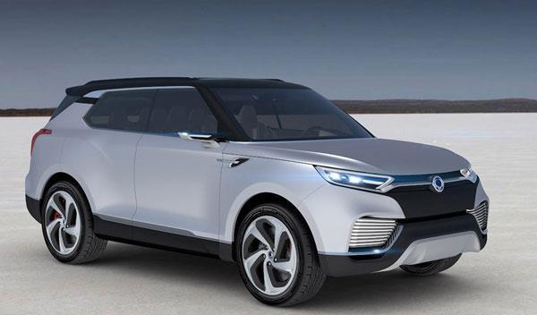 SsangYong XLV Concept tres cuartos delantero