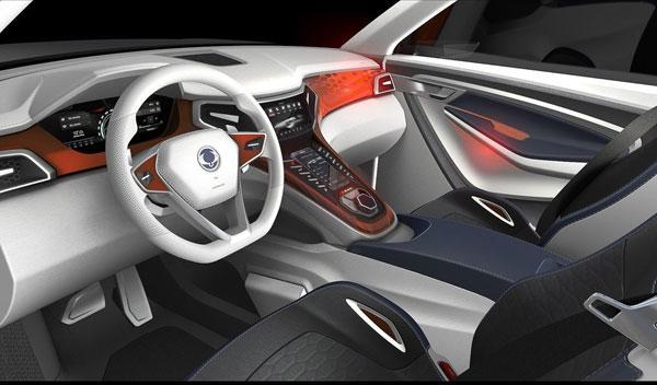SsangYong XLV Concept interior