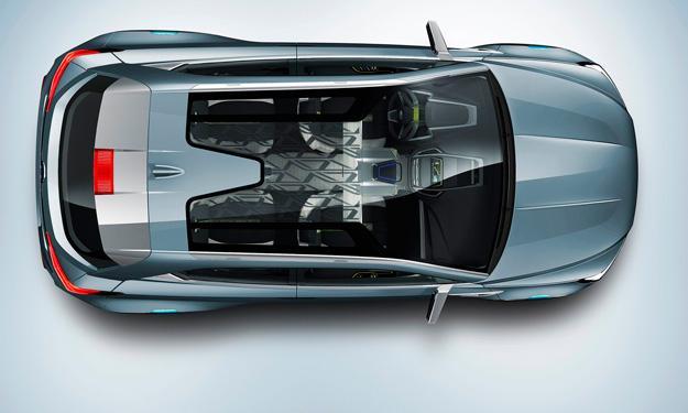 Subaru VIZIV-2 Concept techo