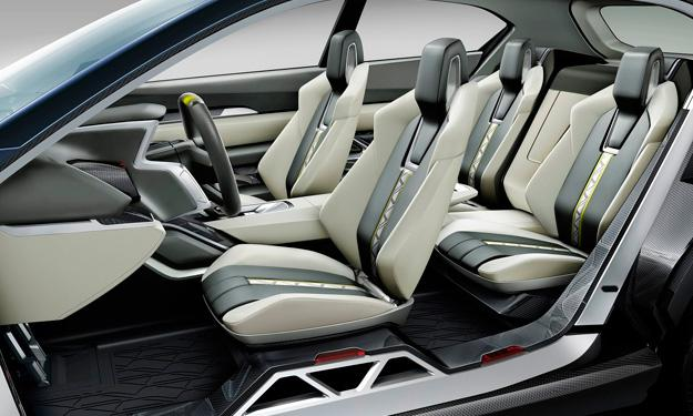 Subaru VIZIV-2 Concept habitáculo