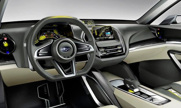 Subaru VIZIV-2 Concept interior