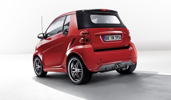 Smart BRABUS Xclusive red edition para Ginebra 2014 trasera