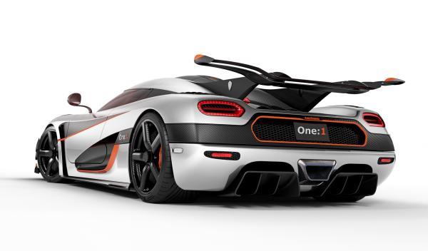 Koenigsegg One:1 trasera